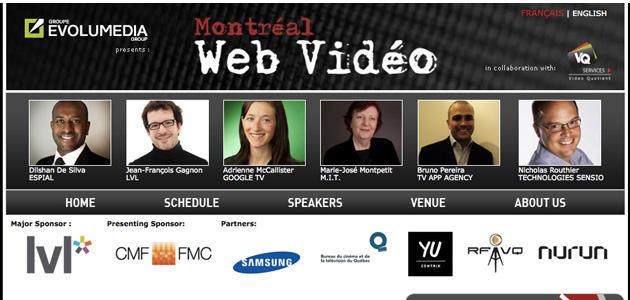 Retour sur la conférence Montréal Web Vidéo (17 mai 2012)