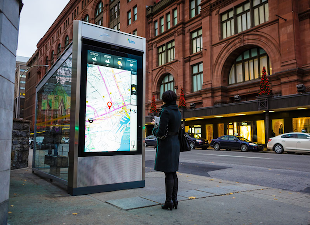 We tested: New interactive STM bus shelters