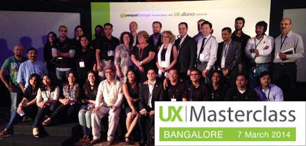 UXMasterclass Bangalore