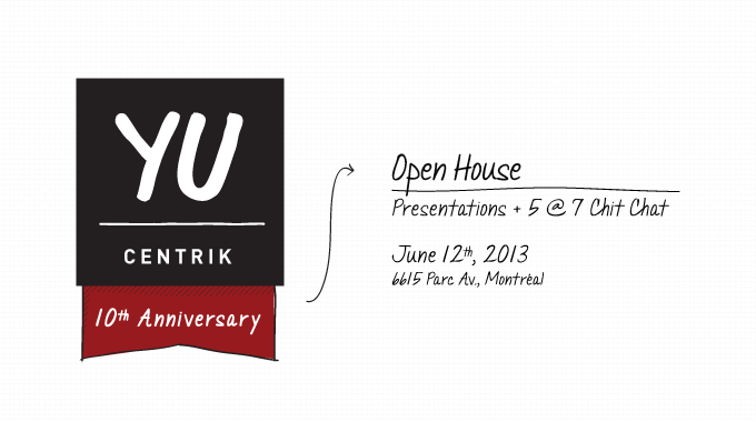 Open House, Wednesday 12 June, 2013