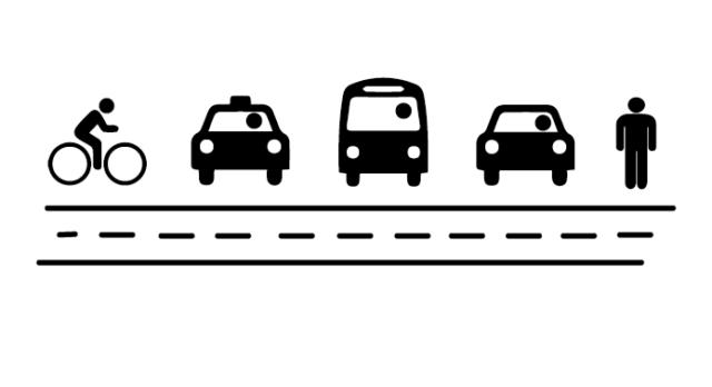Courtesy between bicycle-automobile-pedestrian cohabitation: ideas for improvement