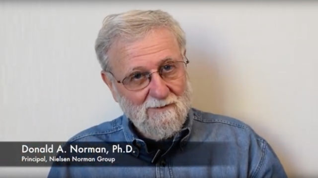 "Don Norman and the definition of ""UX"""