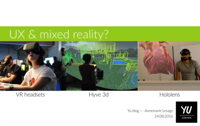 UX et Réalité augmentée