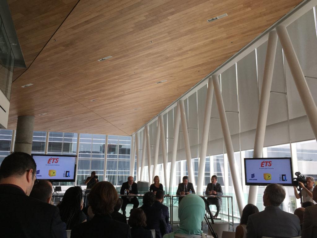 Premier laboratoire à ciel ouvert de la vie intelligente au Canada